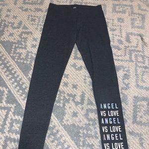 dark grey victoria secret leggings